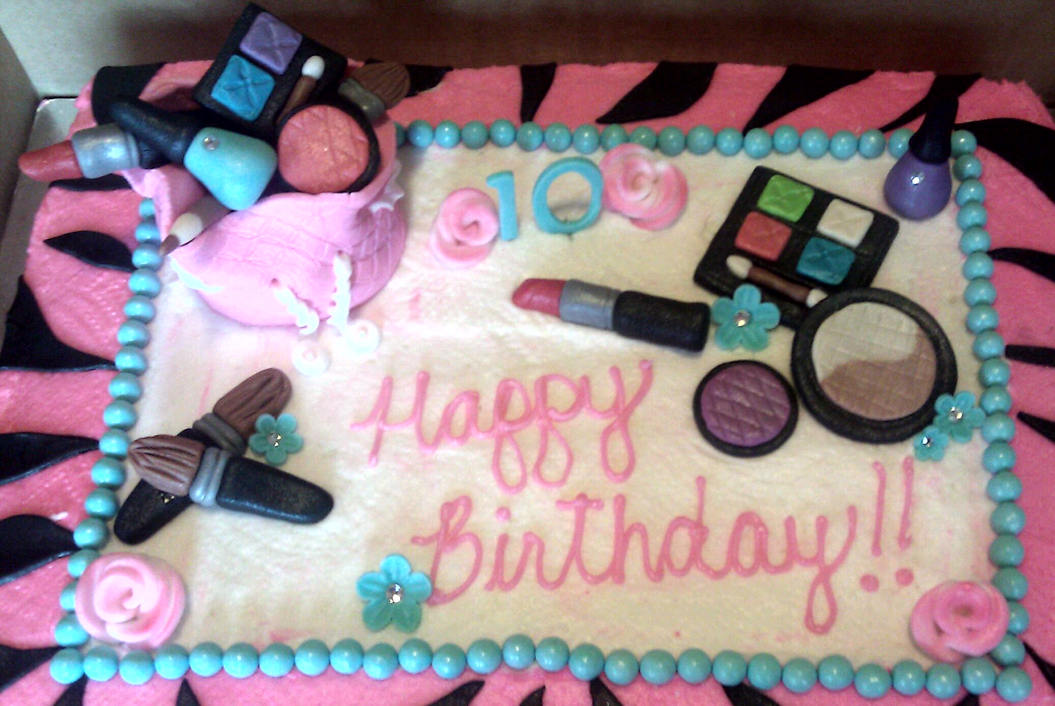 Cake Decorating Rouse Hill : Makeup Bag Birthday Cake images